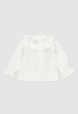 Batiste blouse for girl_1