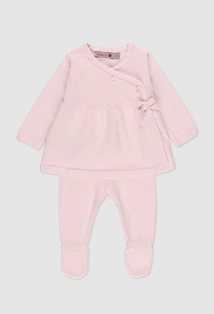 Pack tricot para o bebé menina_1
