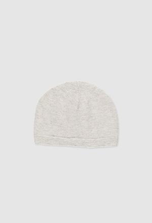 Bonnet tricoté pour bébé_1