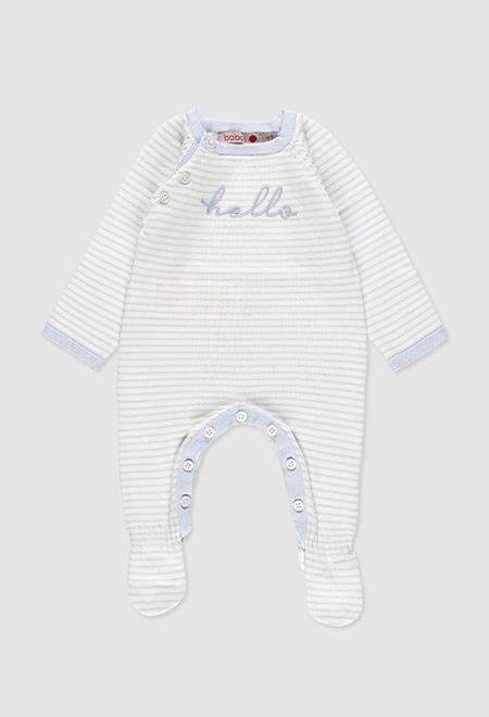Strampelanzug strick für baby_1