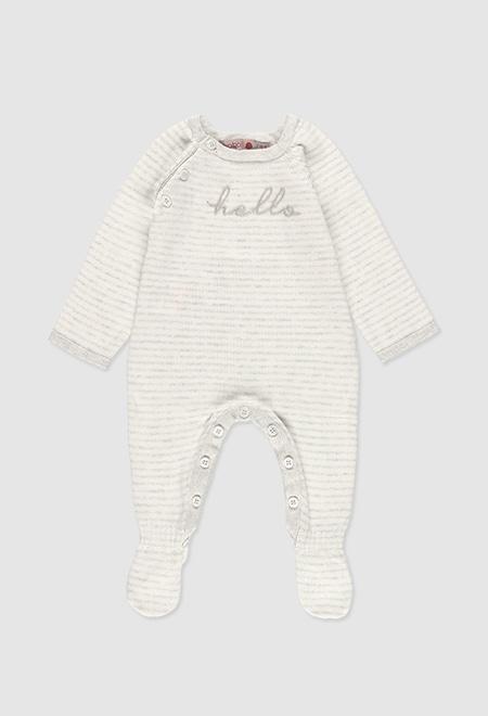 Pelele tricotosa de bebé_1