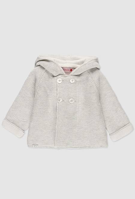 Knitwear jacket for baby_1
