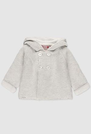 Casaco tricot do bébé_1