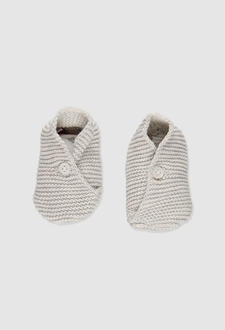 Chaussons tricot pour bébé_1