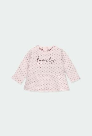 Kleid gestrickt fantasie für baby mädchen_1