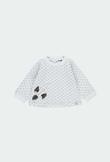 Camisola tecido duplo do bébé_1