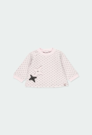 Sweatshirt double face stoff für baby_1