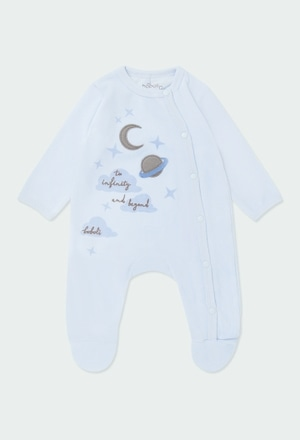 "Velour play suit ""clouds & stars""_1"