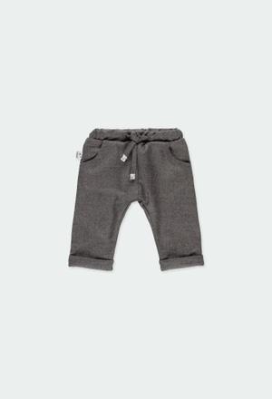 Pantalón de tejido fantasía de bebé niño_1