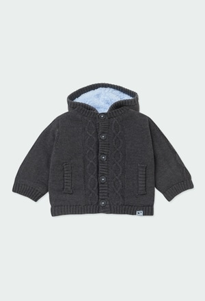 Chaqueta tricotosa de bebé niño_1