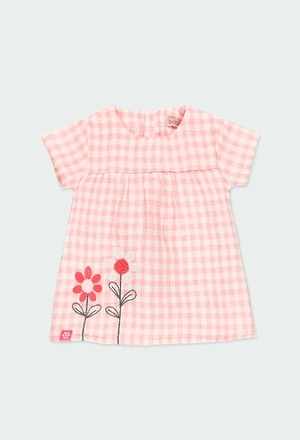 Dress vichy for baby girl_1