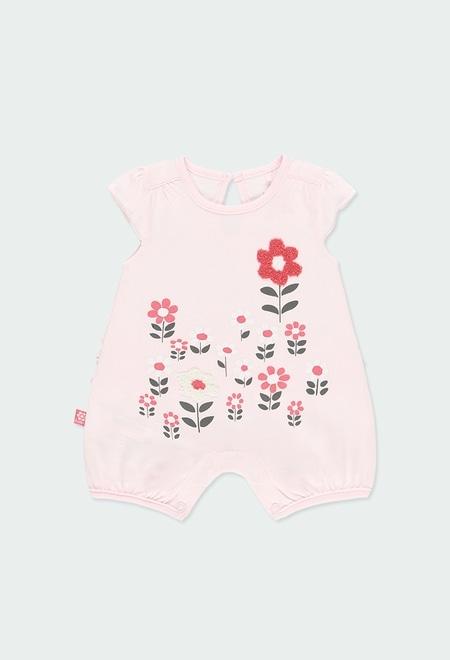 Babygrow malha com folhos para o beb? menina_1