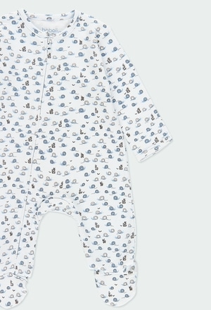 Pelele Ni/ño Invierno Tallas de 0 a 6 Meses boboli Pelele Trictosa de Beb/é Beb/é Traje 100/% Algod/ón Pelele Beb/é Ni/ño Manga Larga Pelele Beb/é Recien Nacido Detalles Azul Celeste