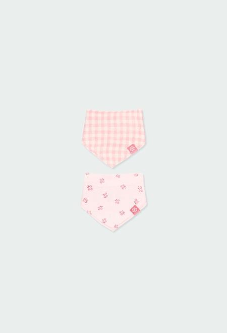 Pack de 2 foulards côtelés pour bébé_1