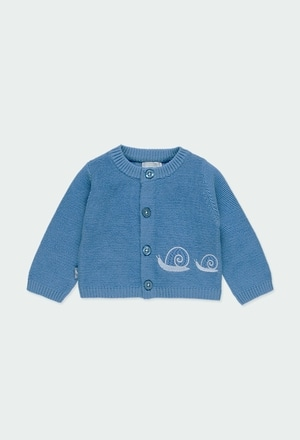 "Knitwear jacket ""snail"" for baby_1"