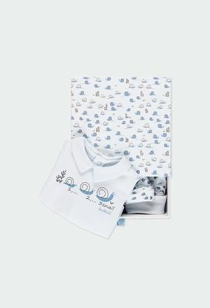 Pack 3 peças caixa de presente para o bebé menino_1