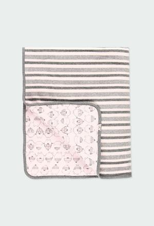 Decke velour für baby_1