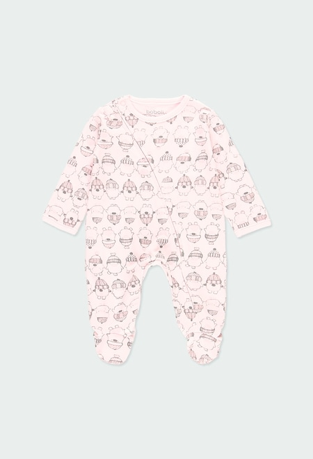 Interlock play suit for baby_1