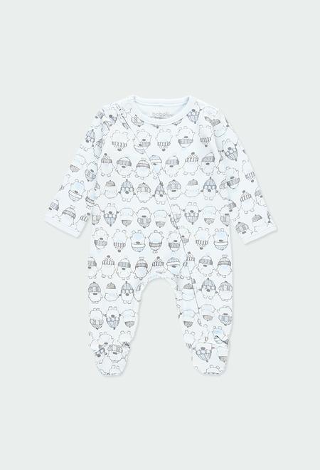 Pelele interlock pingüinos de bebé_1