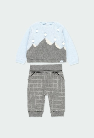 Pack knit combined for baby boy_1