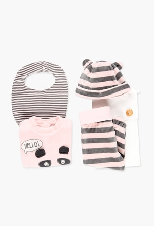 Pack velour for baby_1