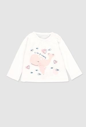 T-Shirt gestrickt für baby mädchen_1