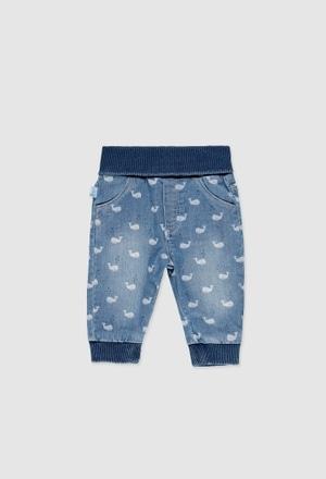 Jeans stretch pour bébé_1