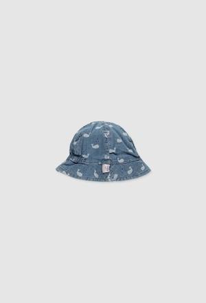 Mütze denim für baby mädchen_1