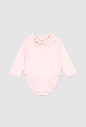 Body glatt gestrickt für baby mädchen_1