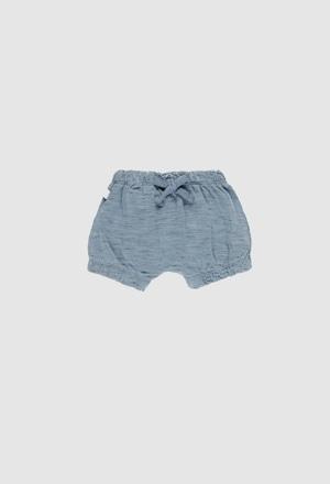 Shorts gestrickt flame für baby mädchen_1
