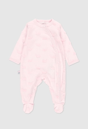 Knit play suit for baby_1