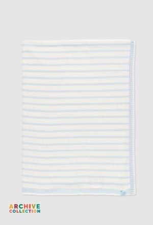 Cobertor tricot do bébé_1