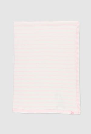 Manta tricotosa de bebé_1