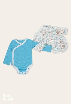 Pack de 2 bodys pour bébé - organique_1