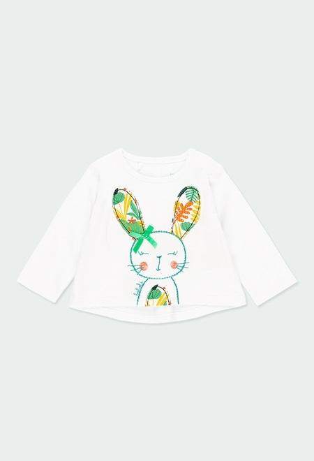 Camiseta malha para o beb? menina_1