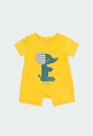 """Babygrow malha """"animais"""" do bébé_1"""
