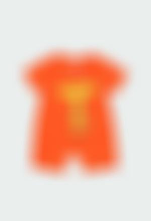 """Grenouillère en tricot """"animaux"""" pour bébé"""