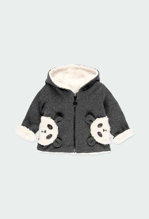 """Manteau """"ours"""" pour bébé_1"""