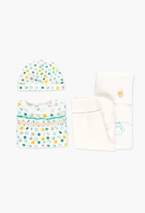 Pack velour for baby girl_1