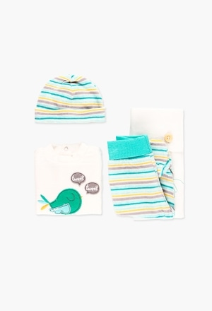 Pack velour for baby boy_1