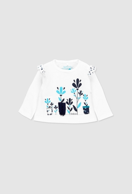 Long sleeves t-Shirt for baby girl_1