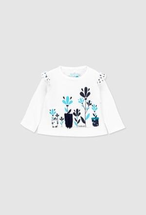 Camiseta manga larga de bebé niña_1