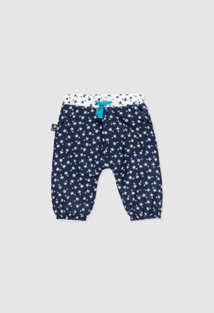 Pantalon en popeline pour bébé fille_1