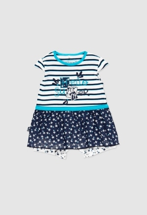 Combined play suit for baby girl_1