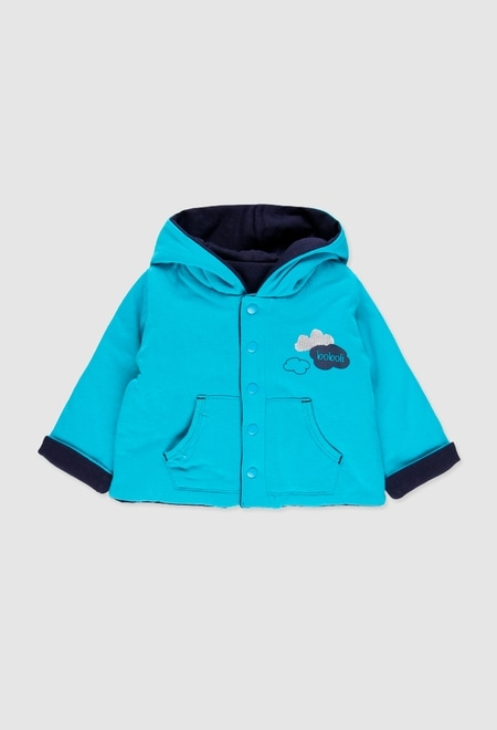 Reversible jacket for baby boy_1