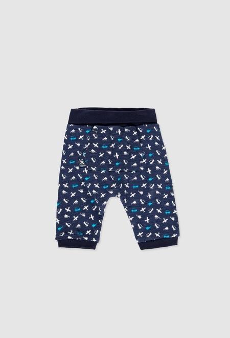 Pantalón punto reversible de bebé niño_1