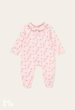 Babygrow borboleta do bébé - orgânico_1