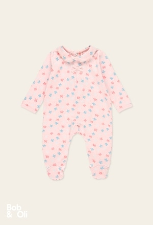 Play suit butterfly for baby - organic_1