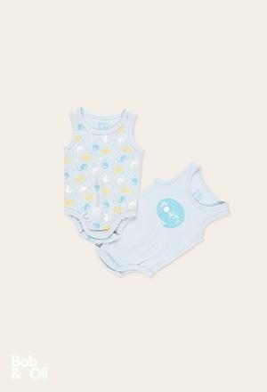 Pack 2 bodys punto de bebé - orgánico_1