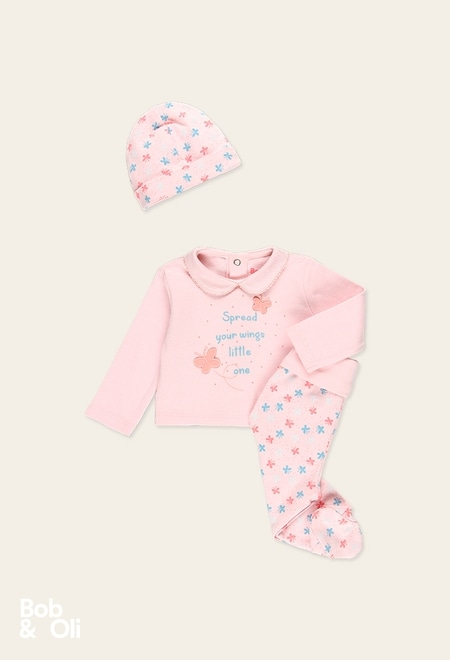 Pack knit for baby girl - organic_1